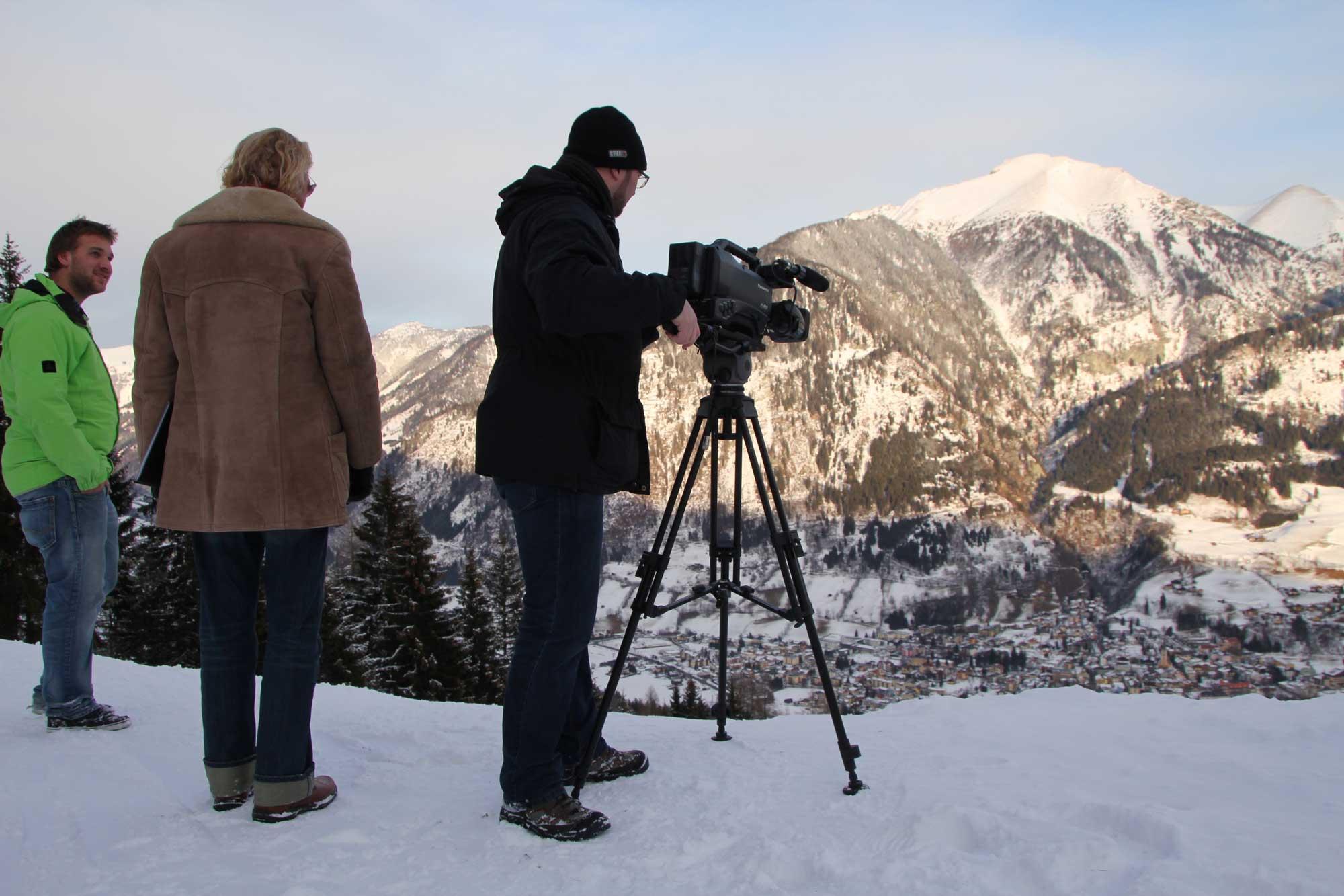 Bremer Imagefilm Produktion in den Alpen
